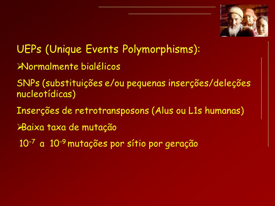 UEPs (Unique Events Polymorphisms):