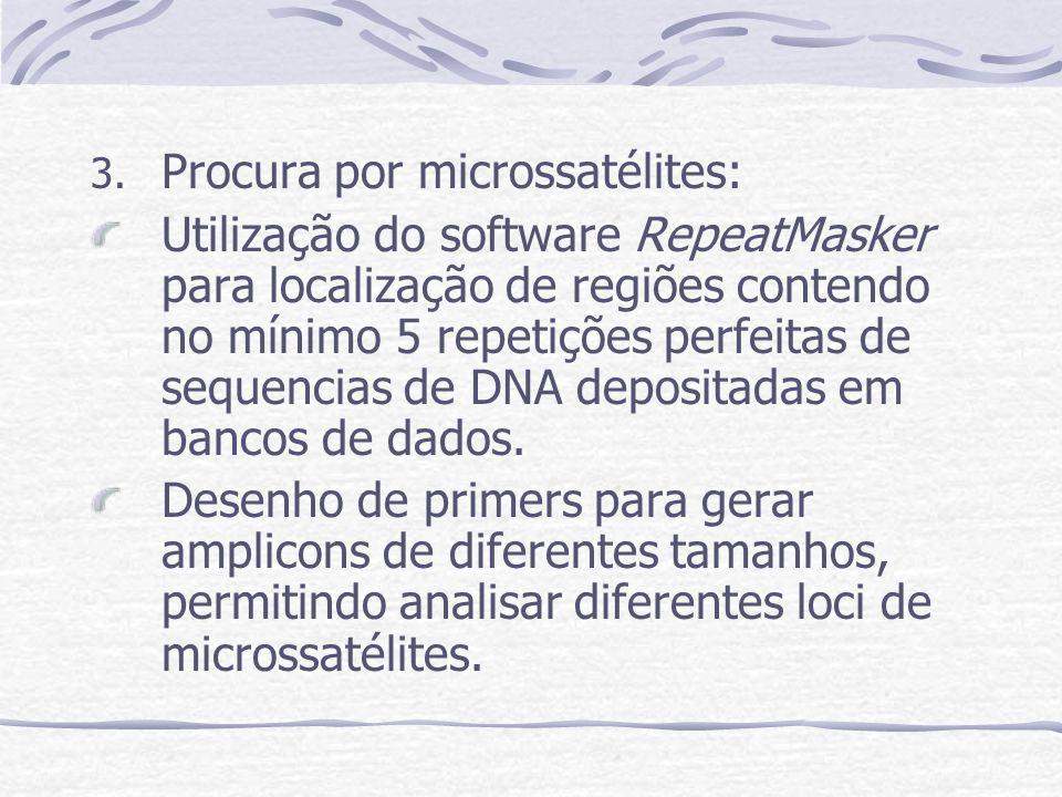 Procura por microssatélites: