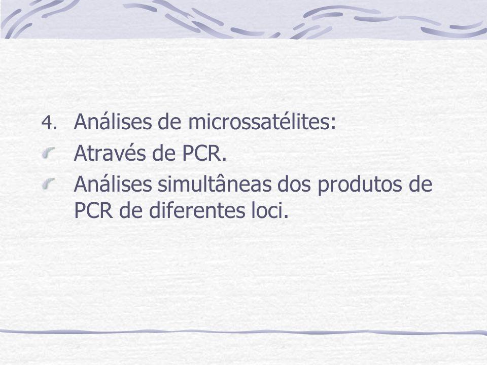 Análises de microssatélites: