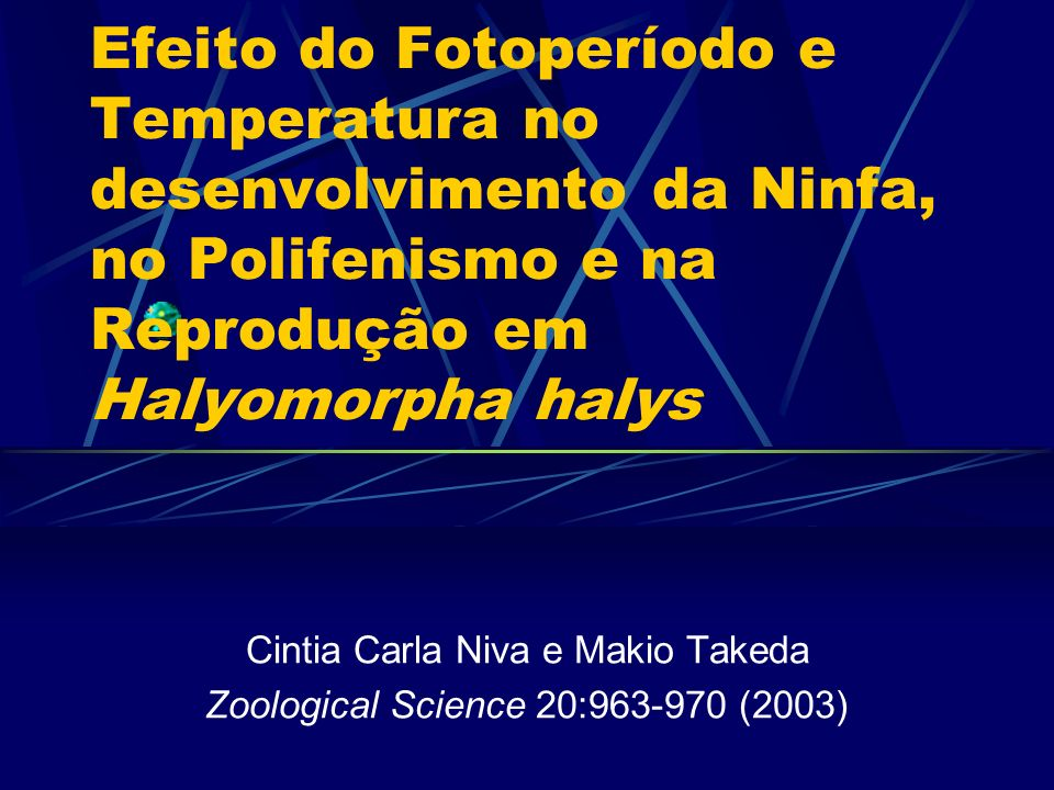 Cintia Carla Niva e Makio Takeda Zoological Science 20:963-970 (2003)