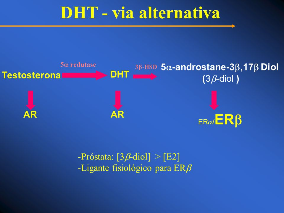 DHT - via alternativa 5-androstane-3,17 Diol (3-diol )