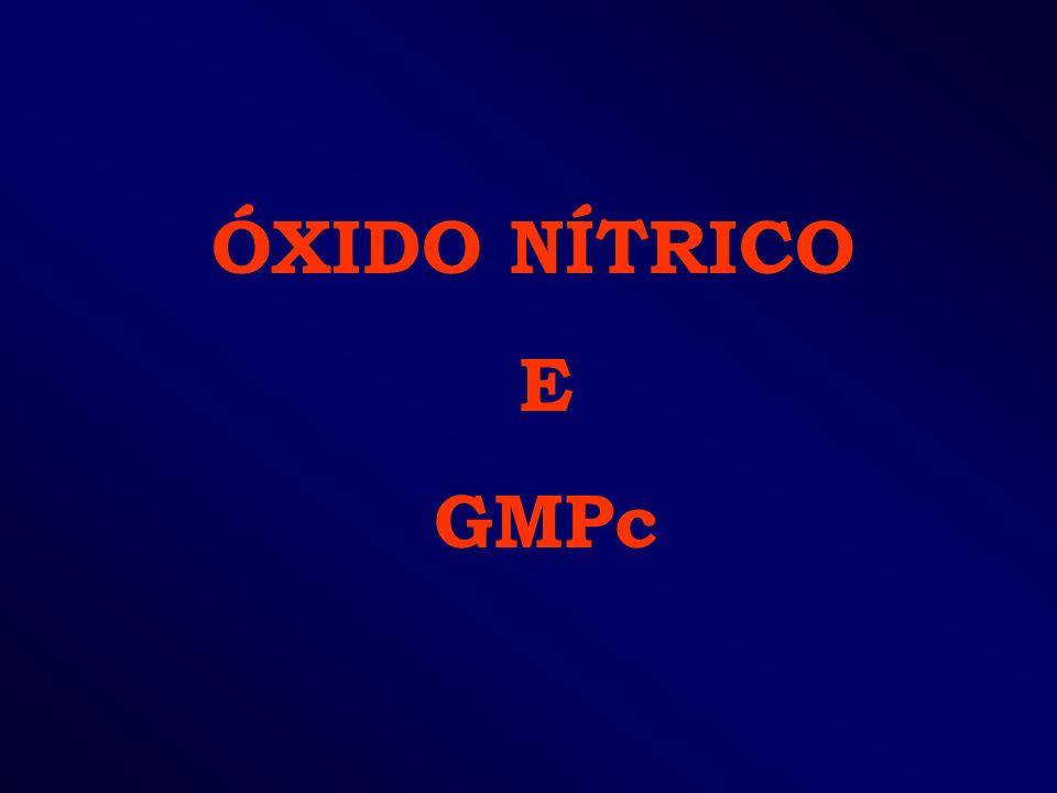ÓXIDO NÍTRICO E GMPc