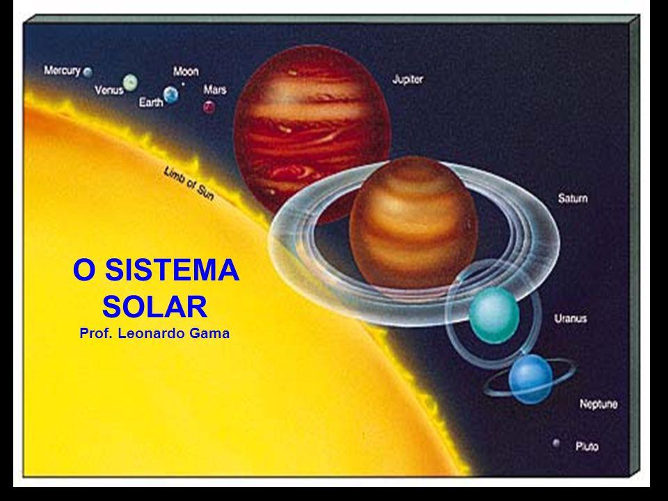 O SISTEMA SOLAR Prof. Leonardo Gama