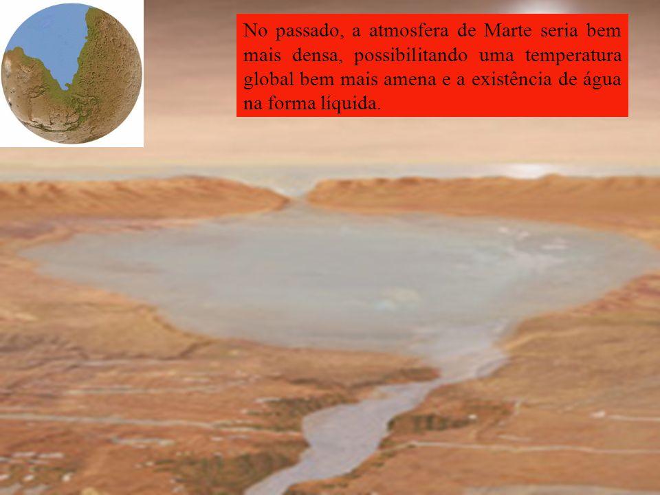 Teria havido água líquida em Marte em épocas remotas