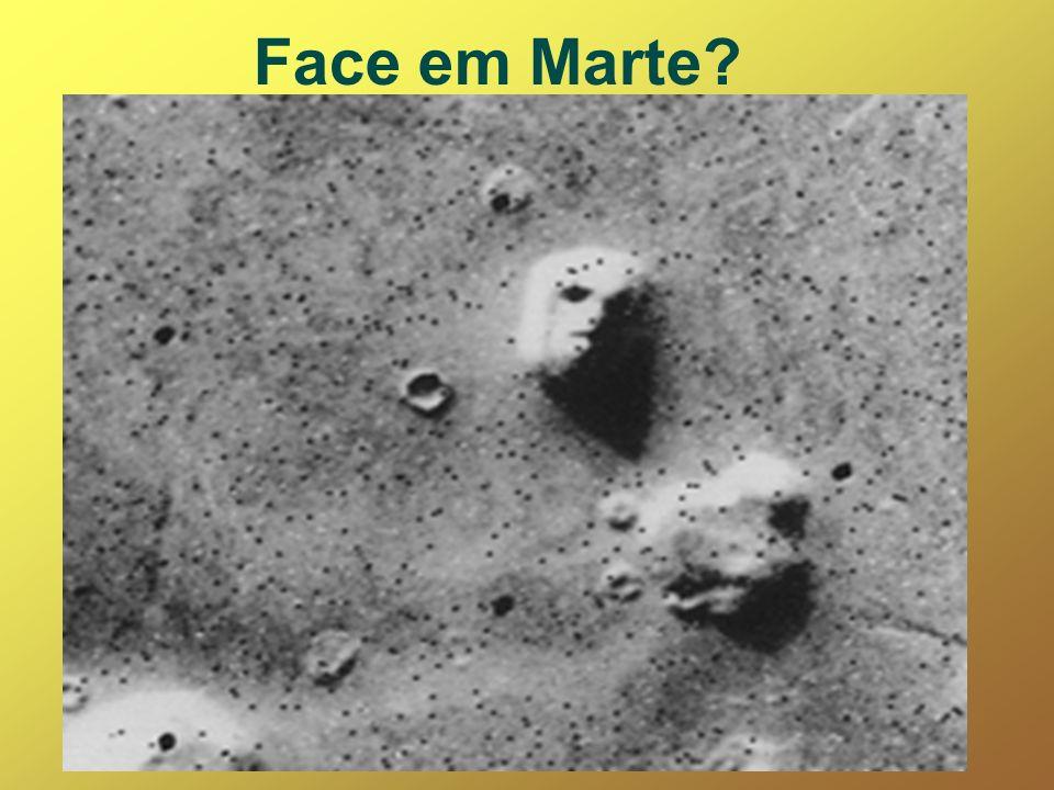 Face em Marte