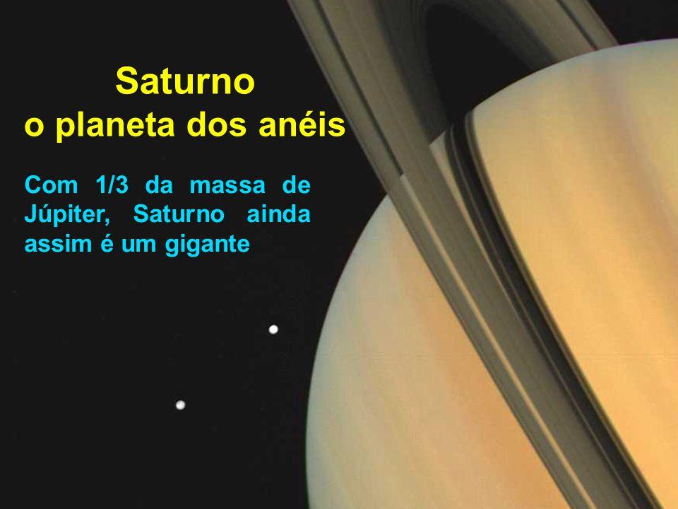 Saturno o planeta dos anéis