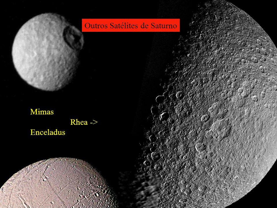 Outros Satélites de Saturno