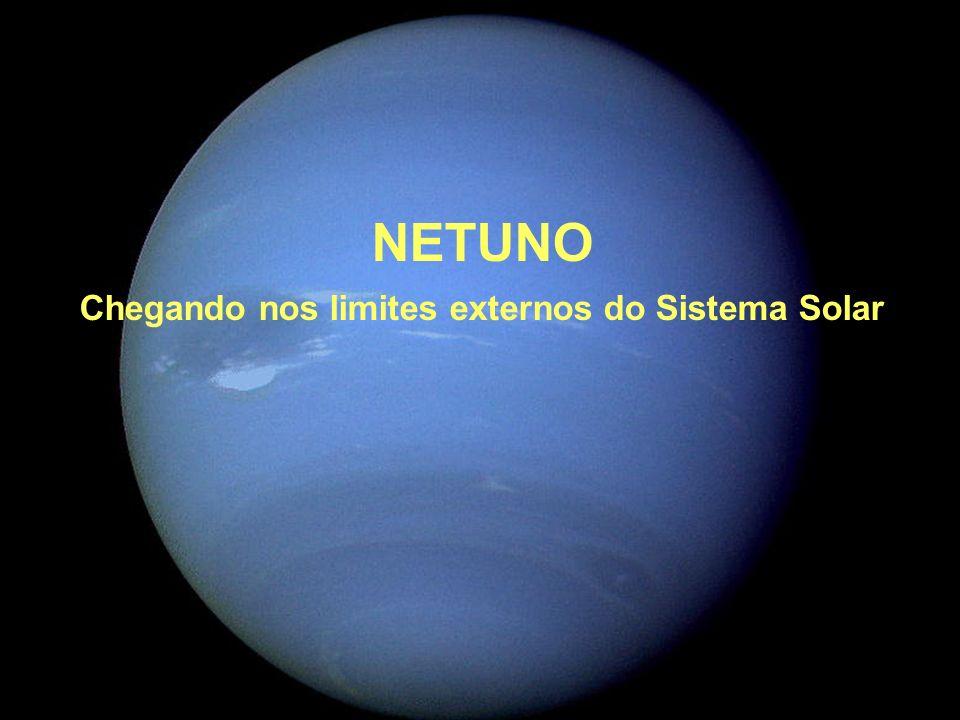 Chegando nos limites externos do Sistema Solar