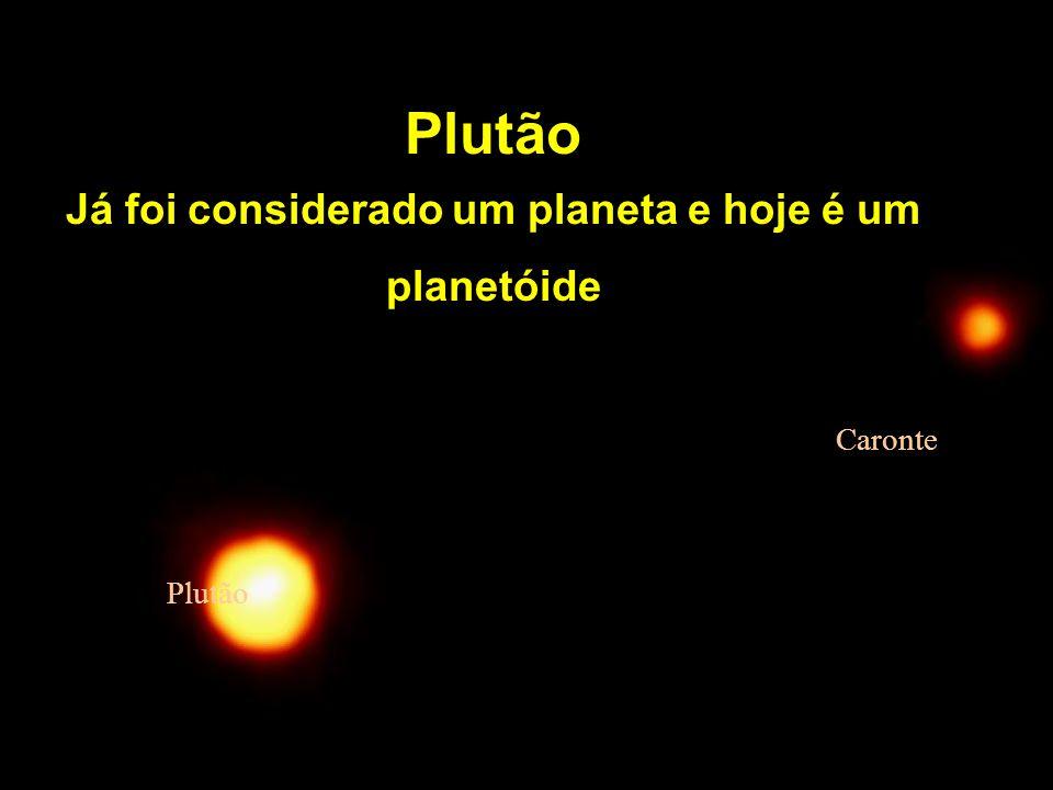 Já foi considerado um planeta e hoje é um planetóide