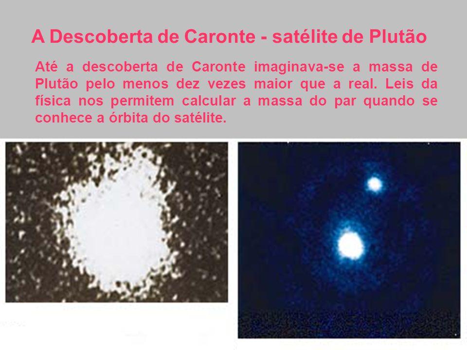 A Descoberta de Caronte - satélite de Plutão