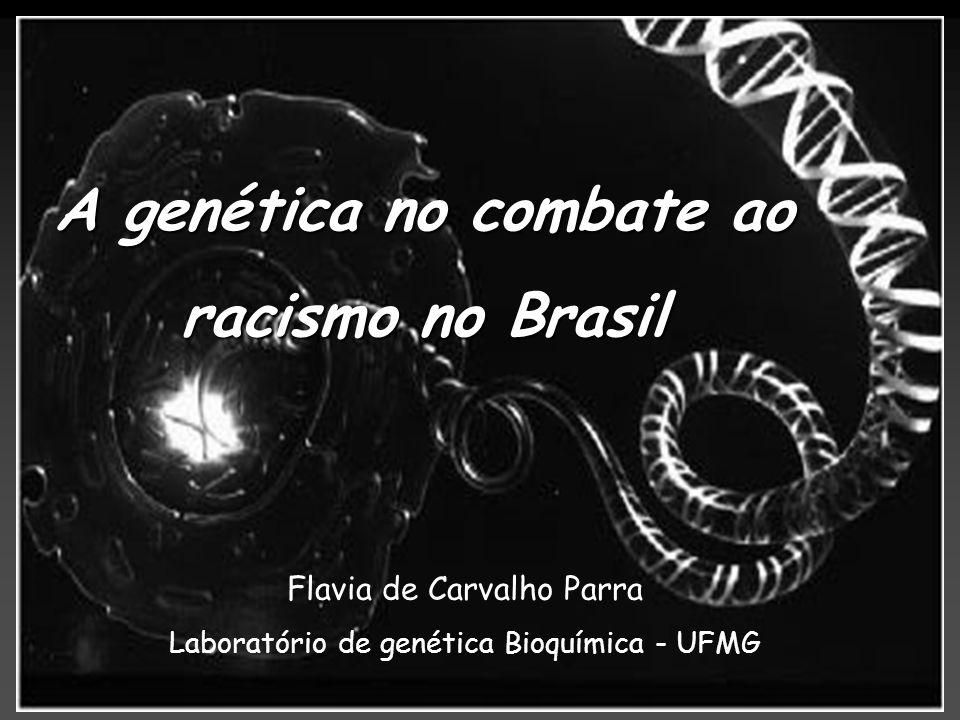 A genética no combate ao racismo no Brasil