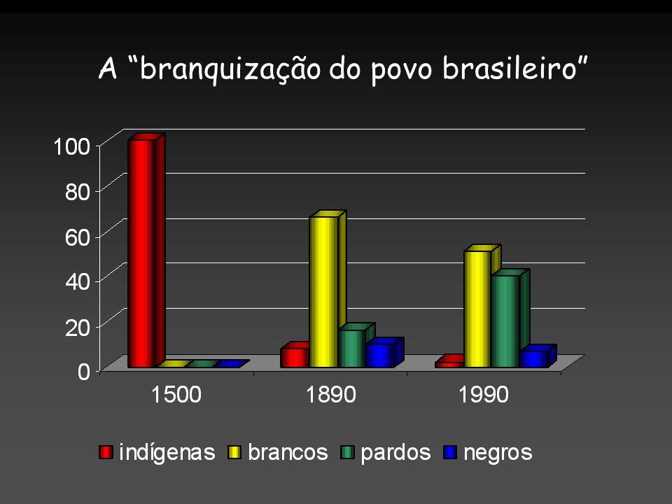 A branquização do povo brasileiro