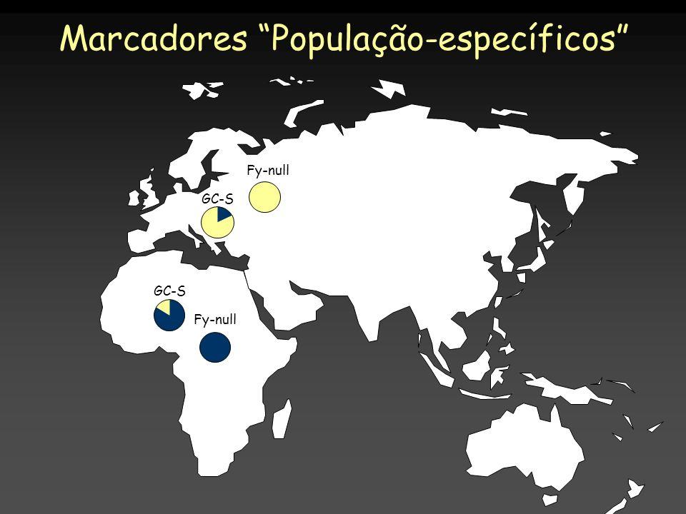 Marcadores População-específicos