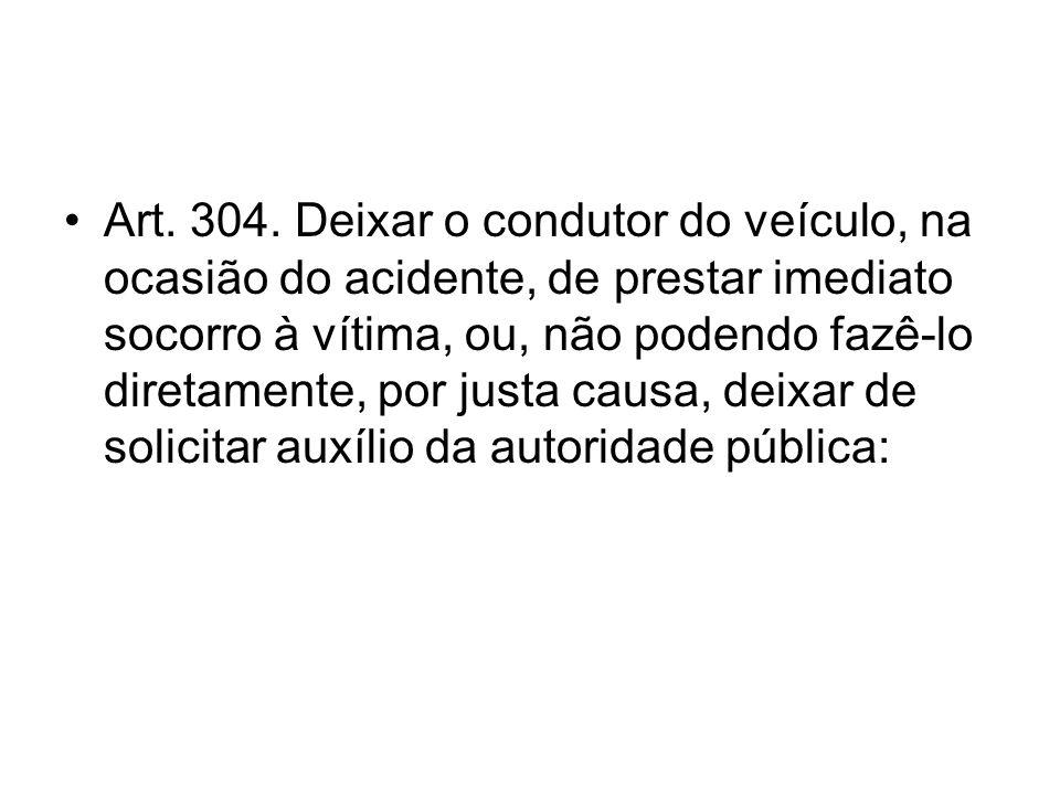 Art. 304.