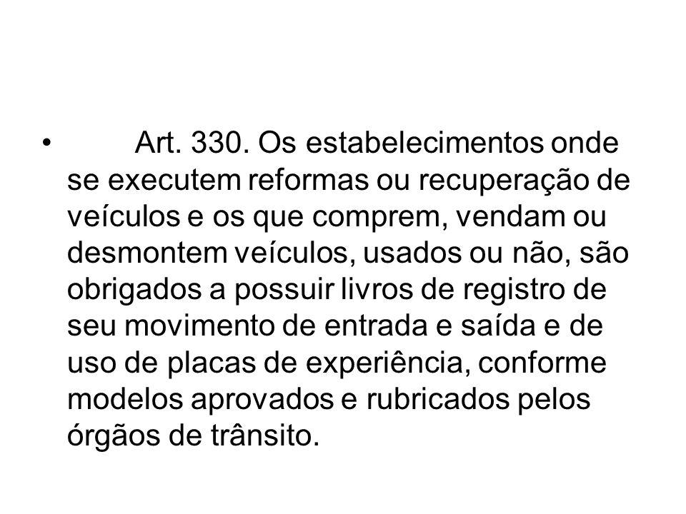 Art. 330.