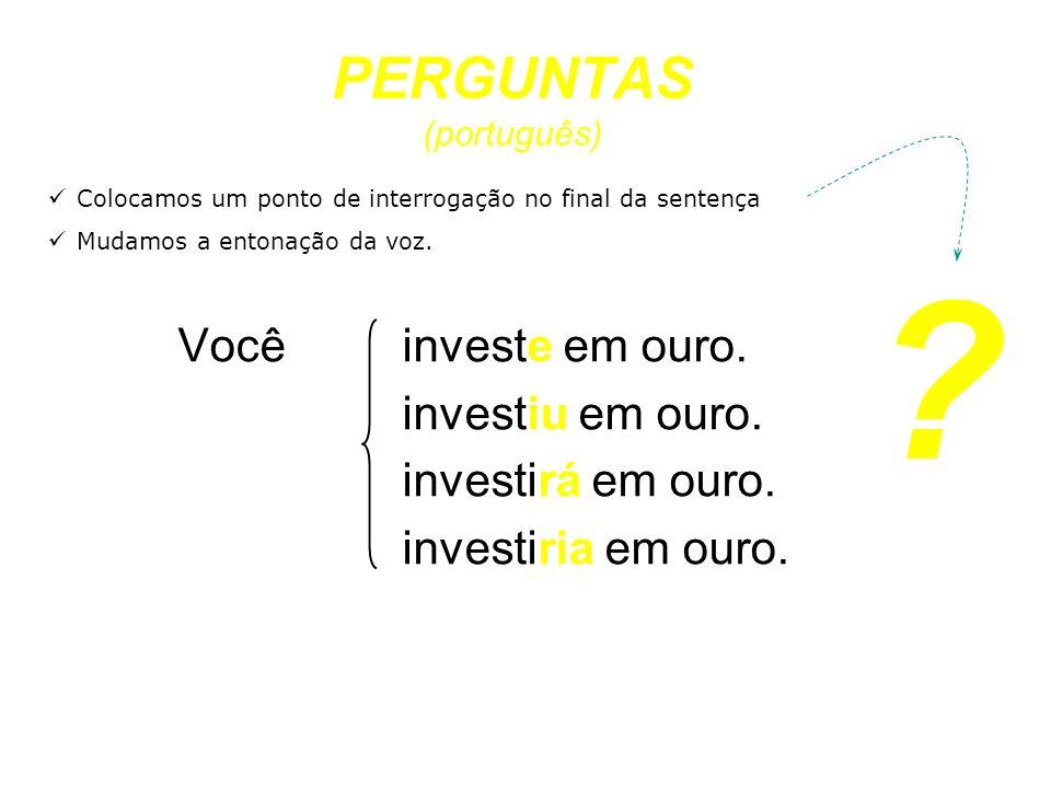 PERGUNTAS (português)