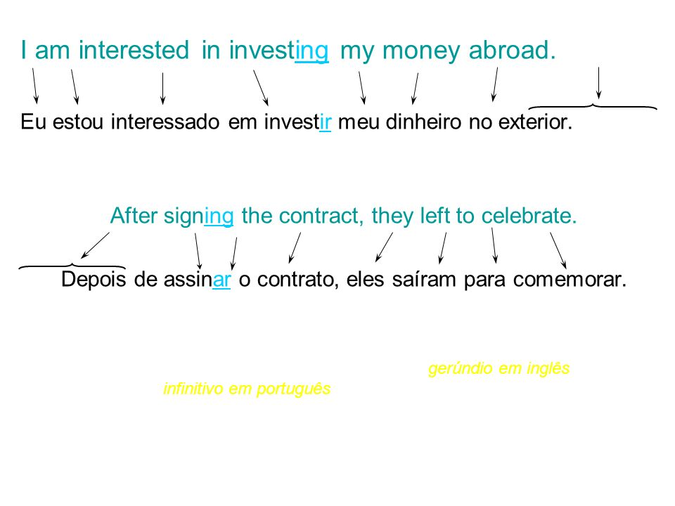 I am interested in investing my money abroad.