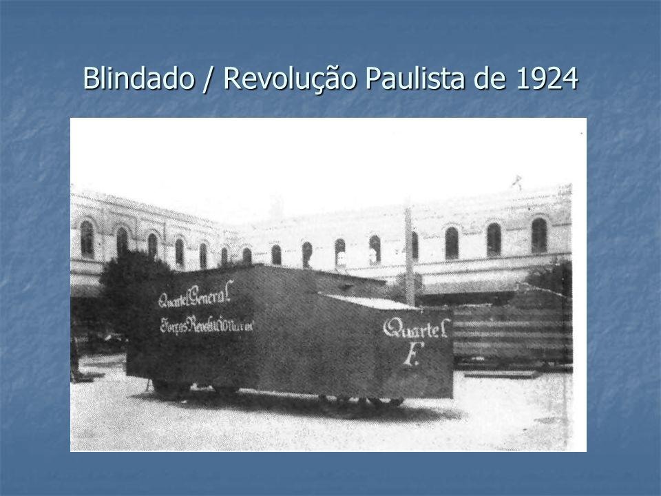Blindado / Revolução Paulista de 1924