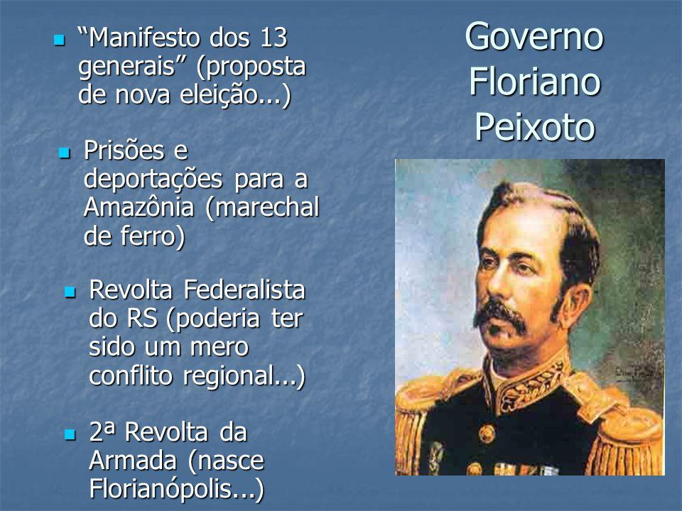 Governo Floriano Peixoto