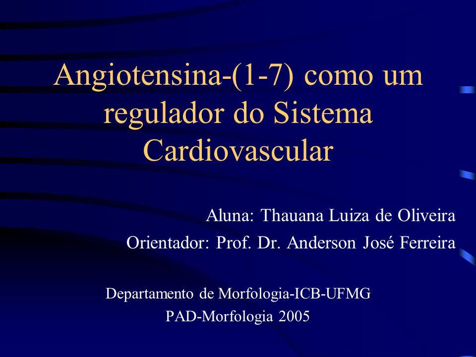 Angiotensina-(1-7) como um regulador do Sistema Cardiovascular