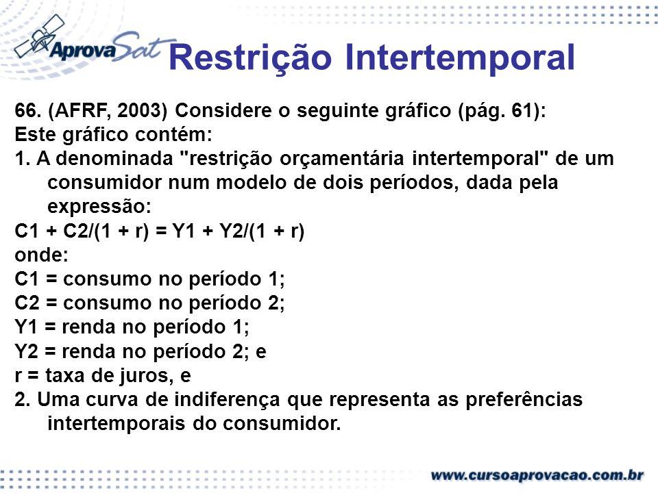 Restrição Intertemporal