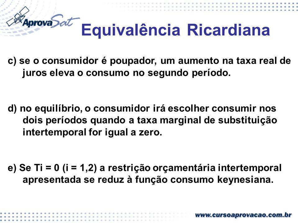 Equivalência Ricardiana