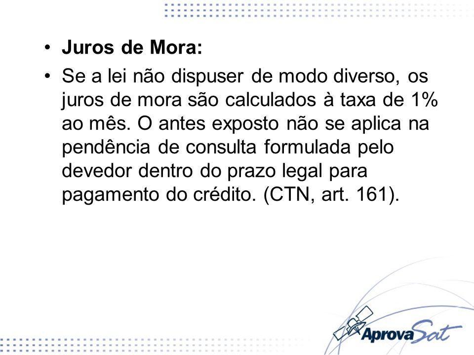 Juros de Mora: