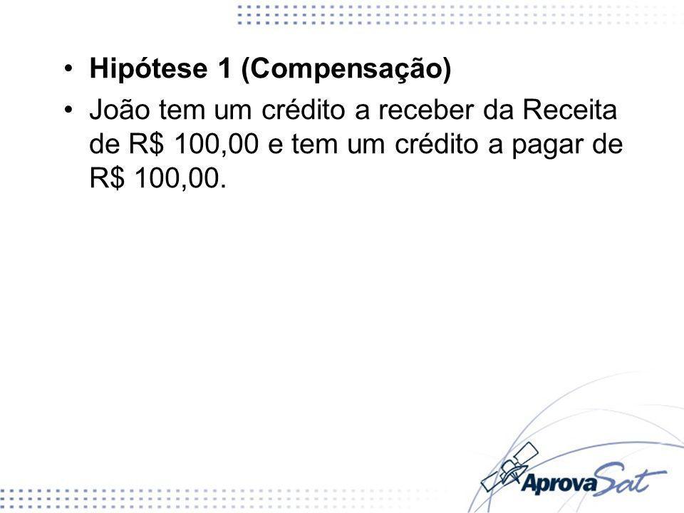 Hipótese 1 (Compensação)