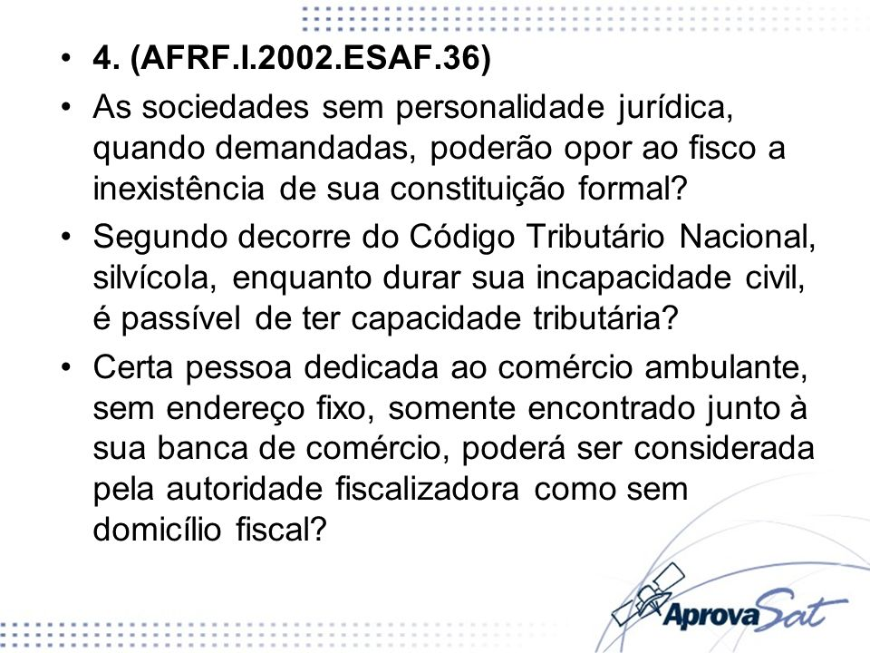 4. (AFRF.I.2002.ESAF.36)