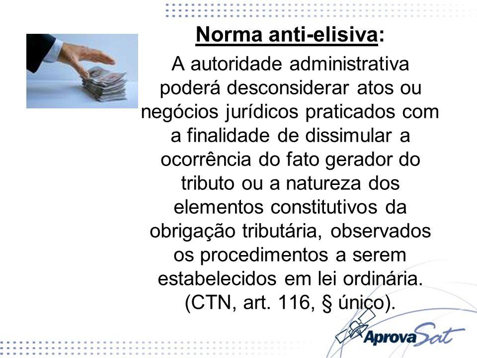 Norma anti-elisiva: