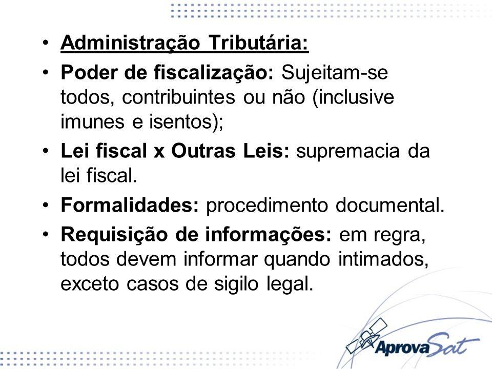 Administração Tributária: