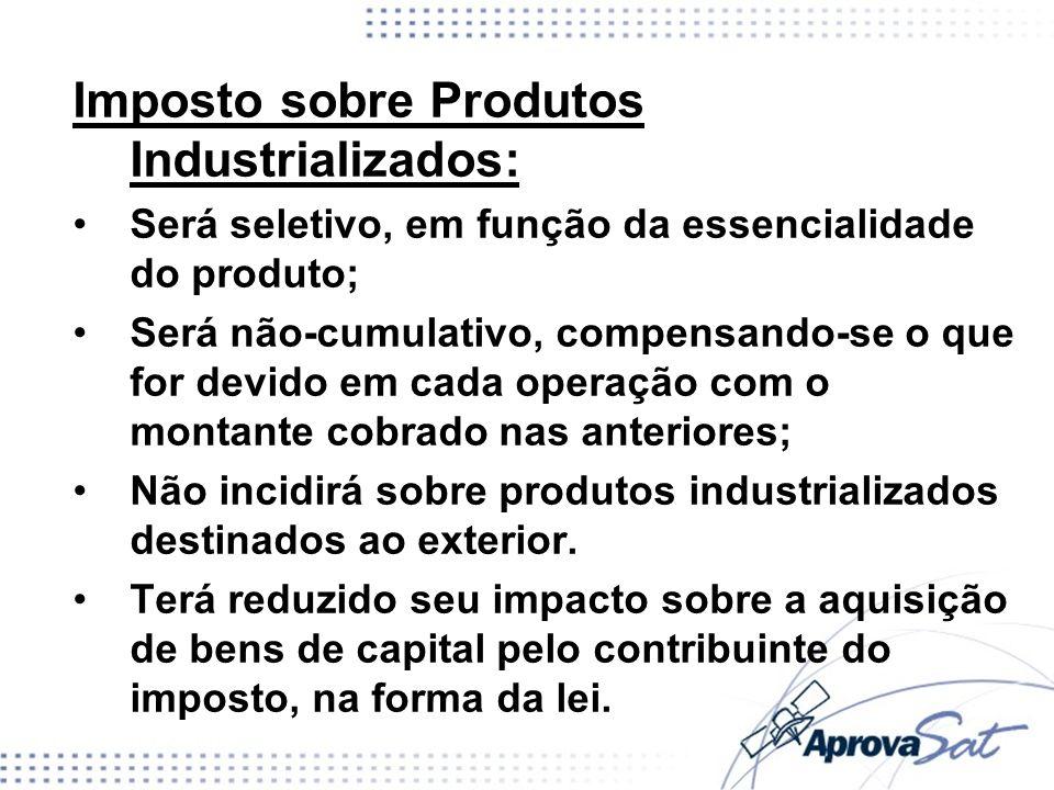 Imposto sobre Produtos Industrializados: