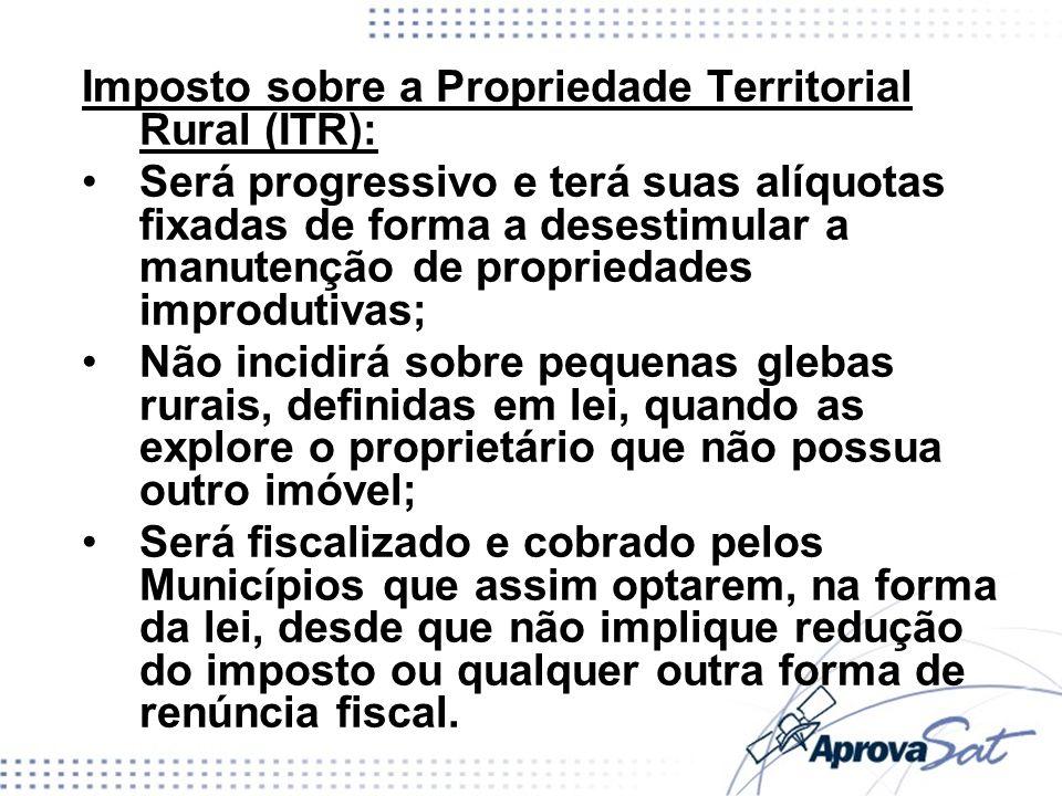 Imposto sobre a Propriedade Territorial Rural (ITR):