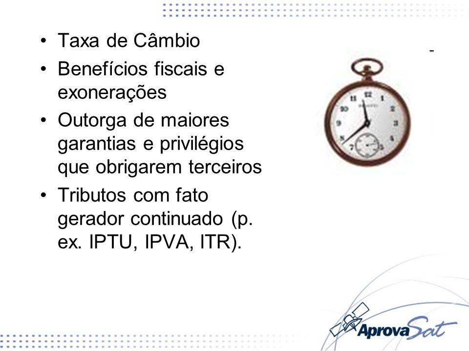 Benefícios fiscais e exonerações