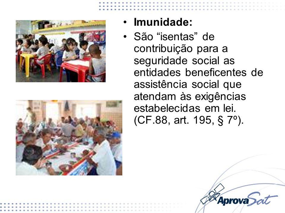 Imunidade: