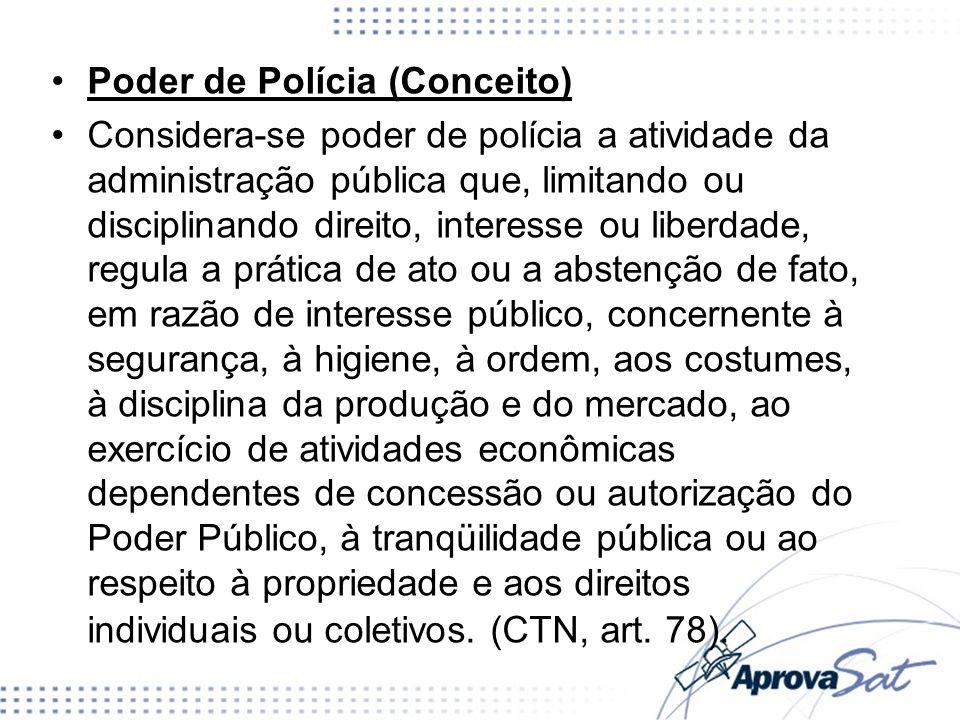 Poder de Polícia (Conceito)