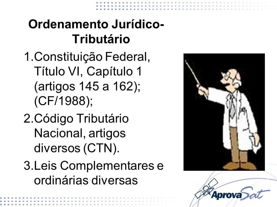 Ordenamento Jurídico-Tributário