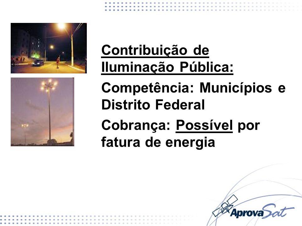 Contribuição de Iluminação Pública: