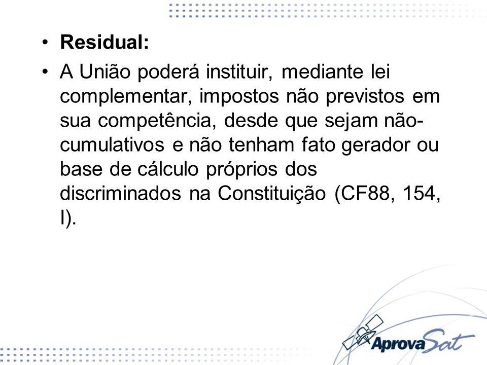 Residual: