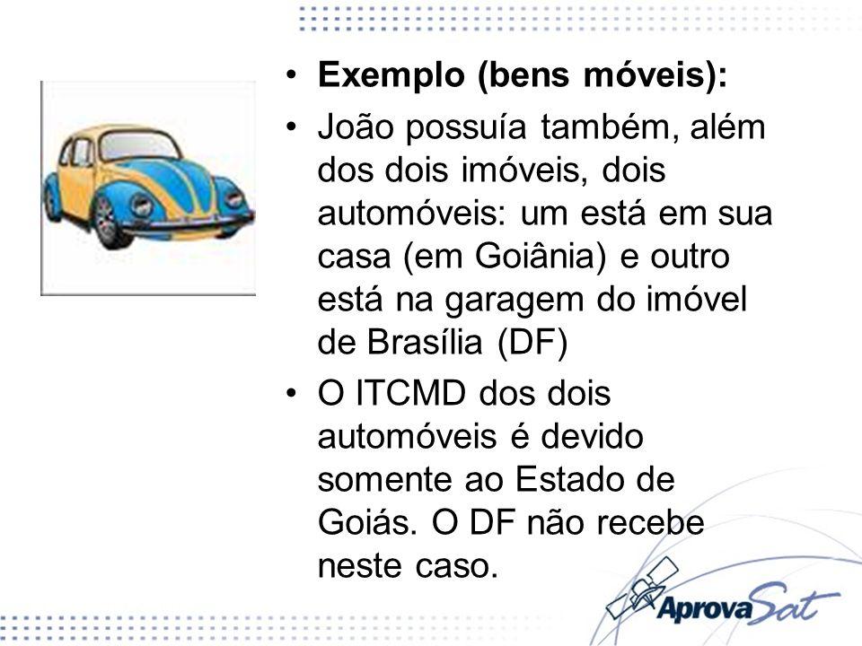 Exemplo (bens móveis):