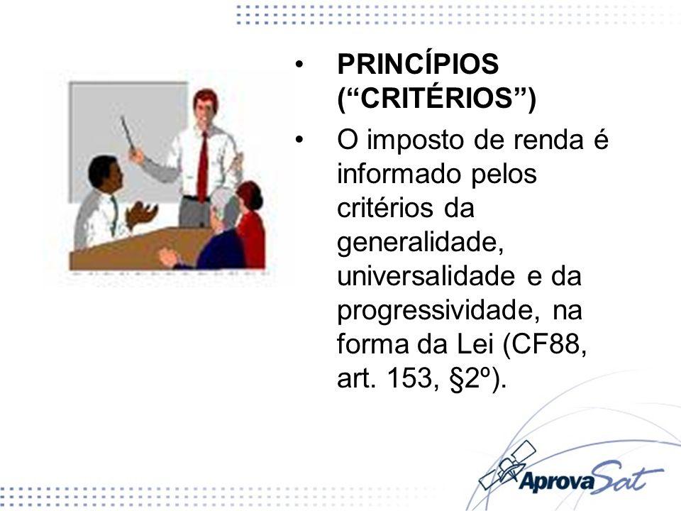 PRINCÍPIOS ( CRITÉRIOS )
