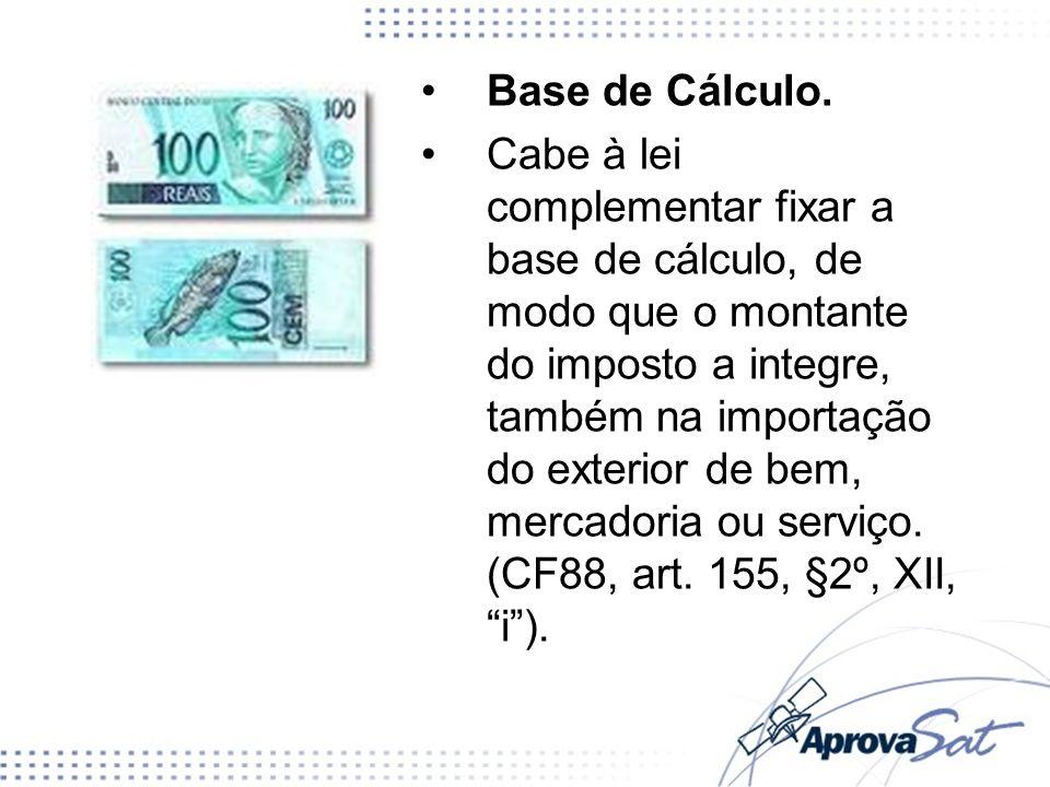 Base de Cálculo.