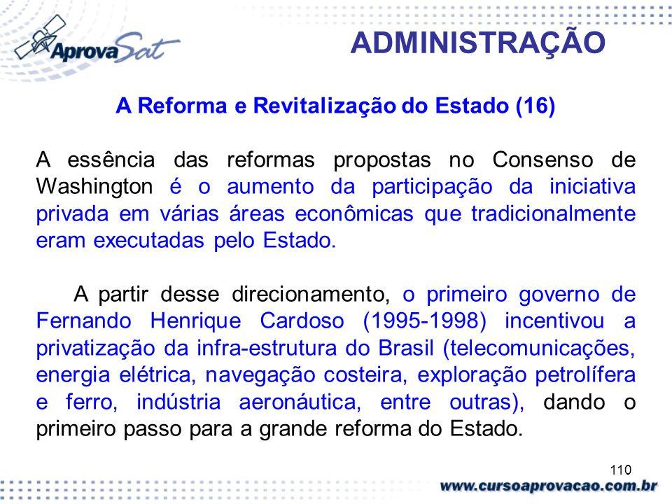 A Reforma e Revitalização do Estado (16)