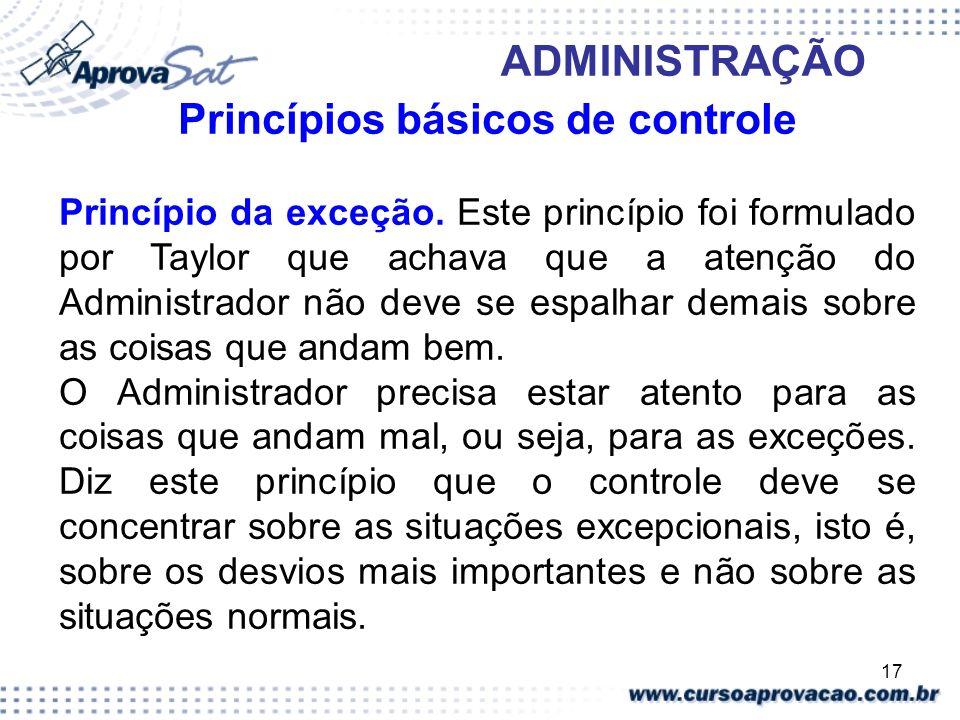 Princípios básicos de controle