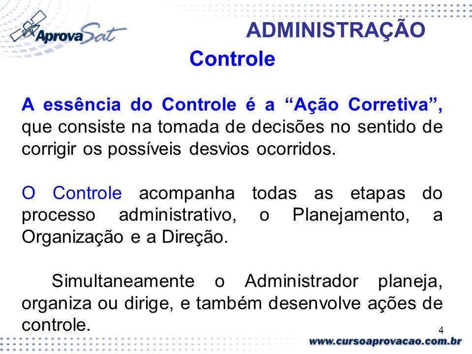 ADMINISTRAÇÃO Controle.