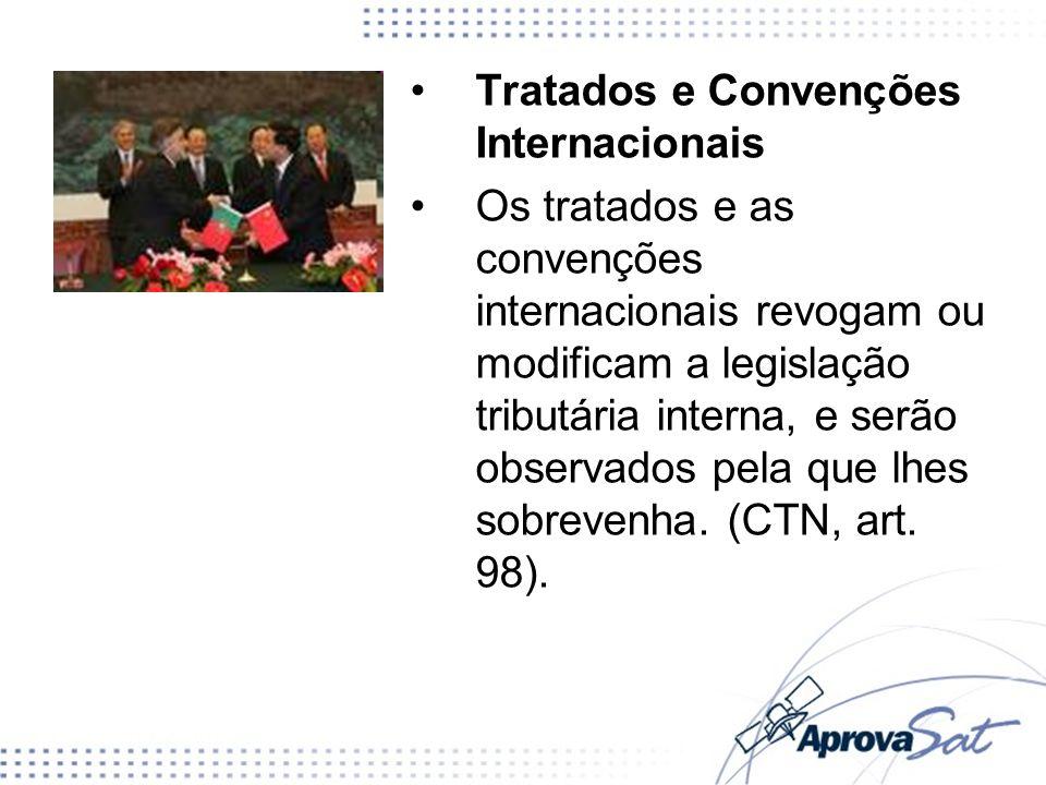 Tratados e Convenções Internacionais