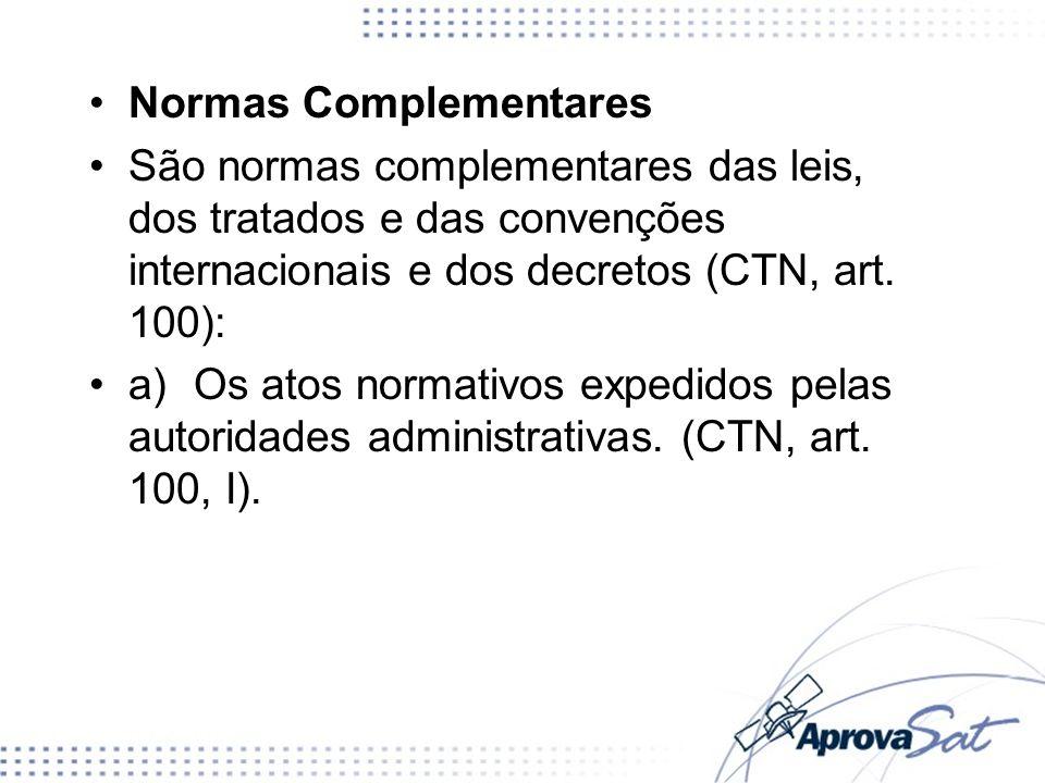 Normas Complementares