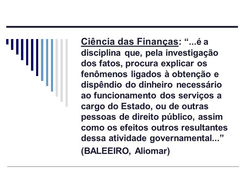 Ciência das Finanças: