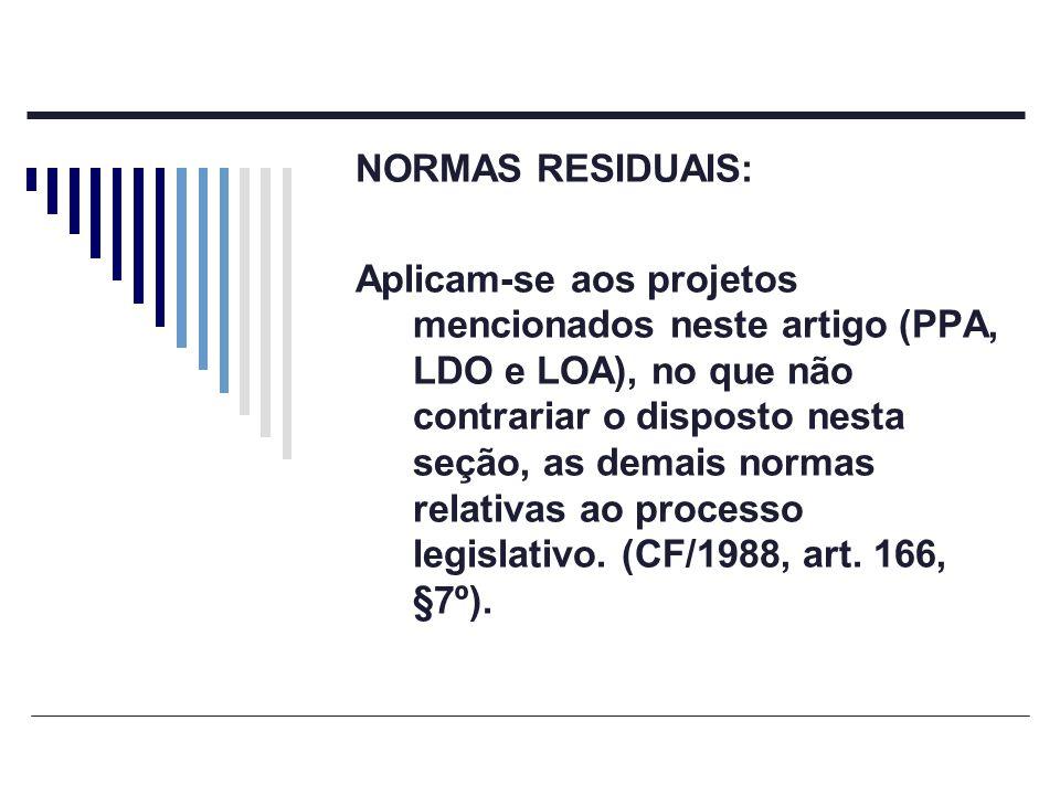 NORMAS RESIDUAIS: