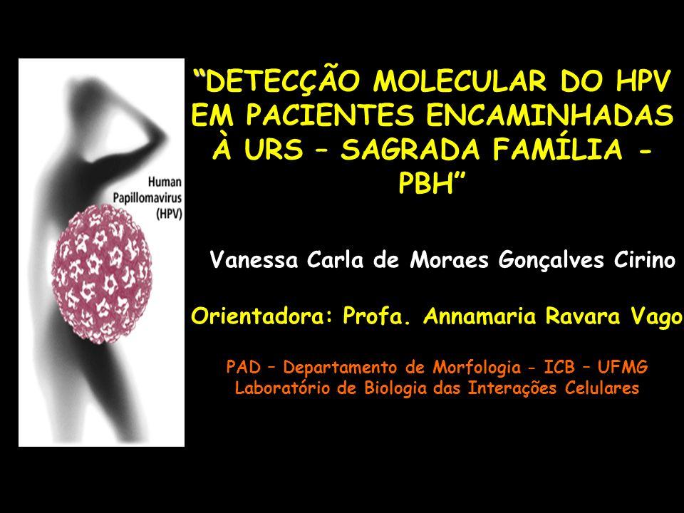 DETECÇÃO MOLECULAR DO HPV EM PACIENTES ENCAMINHADAS